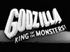 title screen from Godzilla - King of the Monsters!